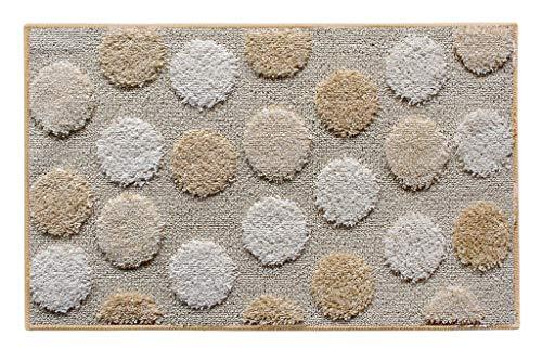 1 alfombra para baño iOS. Dimensiones: 50 x 80 cm. Color nogal.