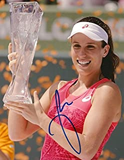BRITISH TENNIS PLAYER Johanna Konta autograph, In-Person signed photo