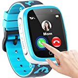 "Kids Smart Watch for Boys Girls, 1.54""Touch Screen Smart Watch for Kids with Call SOS 2 Camera Games Video Music Player Calculator Calendar Alarm Clock, Children Smart Watch Gifts for Kids Age 3-12"