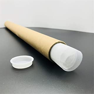 Silk Screen Printing 250 Mesh Count 100T White 16 x 20 inches with No Wrinkles, Pre-Cut 6 Pack