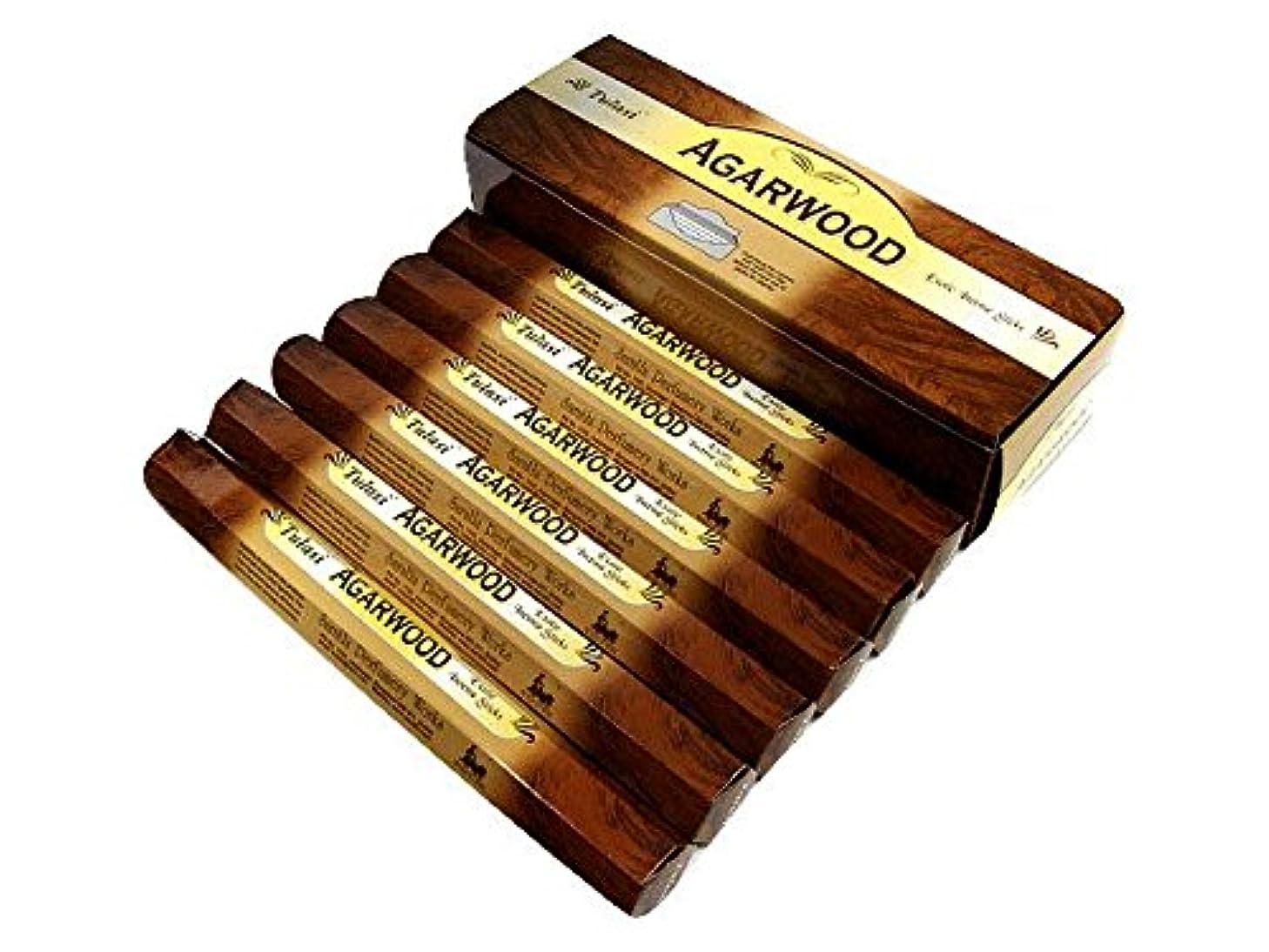 TULASI(トゥラシ) アガーウッド香 スティック AGARWOOD 6箱セット