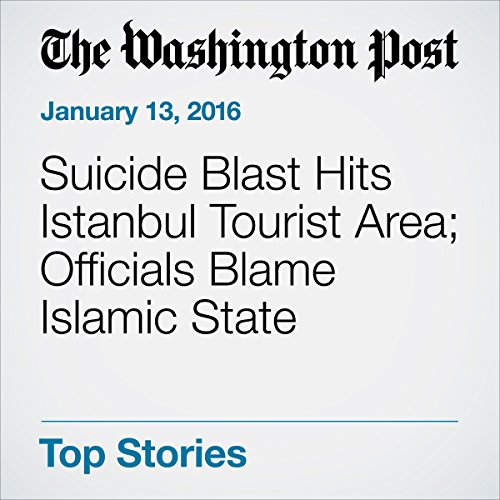 Suicide Blast Hits Istanbul Tourist Area; Officials Blame Islamic State cover art
