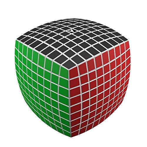 V-Cube 9 White Pillow 9 Almohada Blanca, Multicolor, (Abysse Corp 94-0332)