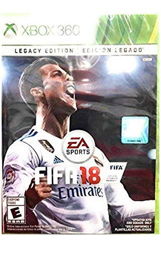 FIFA 18 Legacy Edition - Xbox 360 (Renewed)