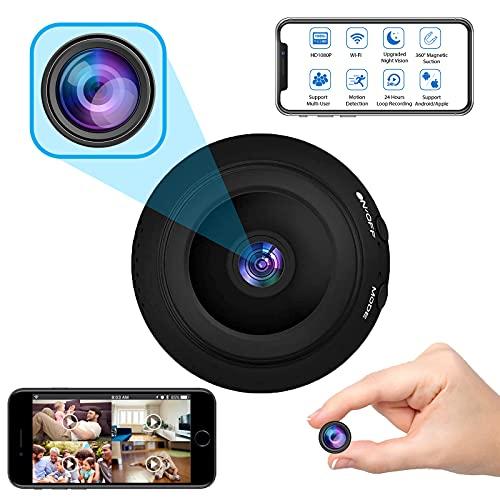 Mini Spy Camera Wireless Hidden Cameras WiFi - Real 1080P HD Hidden Nanny Cam...