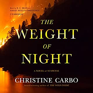 The Weight of Night audiobook cover art