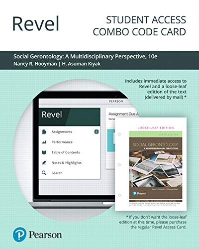 Revel for Social Gerontology: A Multidisciplinary Perspective -- Combo Access Card