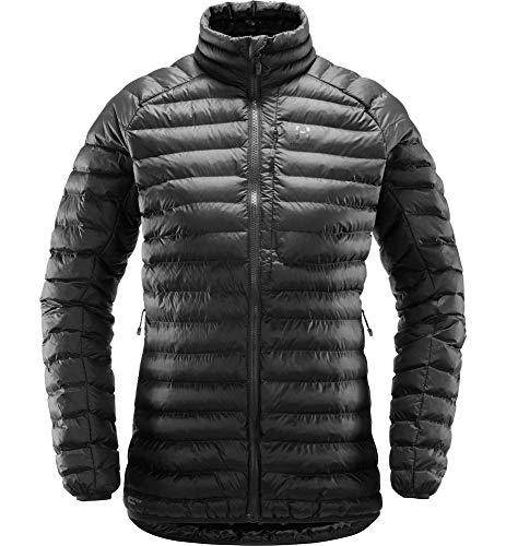 Haglöfs Winterjacke Frauen Daunenjacke Essens Mimic Wärmend, Atmungsaktiv, Wasserabweisend Slate XS XS - Empty for carryovers -