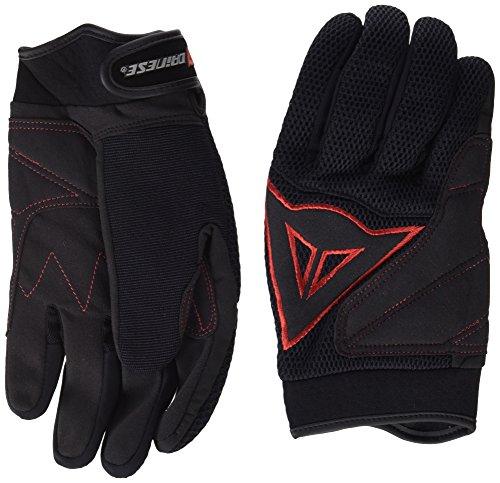 Dainese 3819262B78–Handschuh Tex Long schwarz/rot S