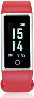 YZY Pulsera Actividad, Reloj Inteligente podómetro IP67 a Prueba de Agua con reconocimiento automático de Ejercicio, Larga Espera, Monitor de sueño y Seguimiento de natación