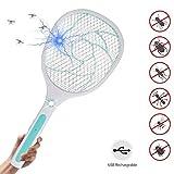 MojiDecor Elektrische Fliegenklatsche Fliegenfänger Moskito Zapper