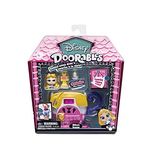 Famosa - Disney Doorables 14653B. Mini casa: Alicia en el país de Las Maravillas.
