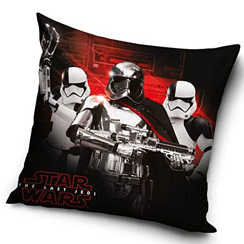 Star Wars Housse de Coussin 100% Polyester 40x40cm SW172001-POSZ, Multicolour