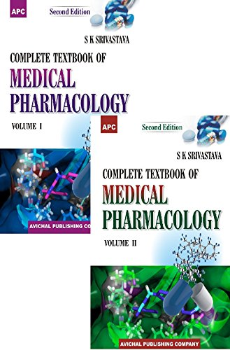 A Complete Textbook of Medical Pharmacology - Vol. I and II