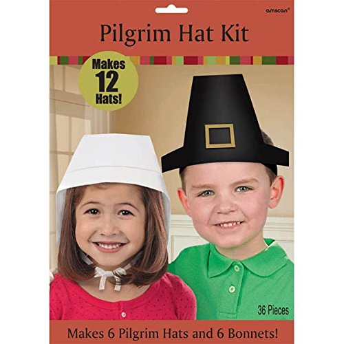 Amscan Thanksgiving Make Your Own Hat Kit 846d236f39f
