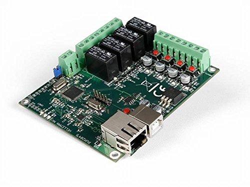 velleman - VM204 Carte Relais Ethernet 4 canaux avec 4 entrées numériques et 1 analogique 169255