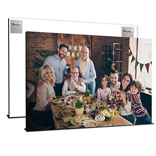 wandmotiv24 Ihr Foto auf Aluminium 105 x 70 cm (BxH) - Querformat - Aluminium SOFORT ONLINE VORSCHAU, personalisiertes Wandbild, Blechschild Metall, Foto gestalten, personalisierte Foto-Geschenke