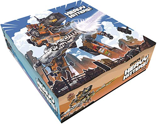 Weta Workshop Giant Killer Robots Heavy Hitters Core Box, Multicolor