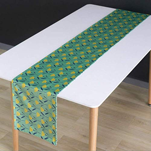 Country Style Green Suede Table Runner For Wedding Party Holiday Event Dinner Table Decoration Christmas Decoration 32x220cm