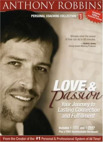 Anthony Robbins Personal Coaching Collection Love and Passion Your Journey to Lasting Connection product image
