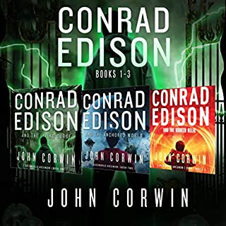Conrad Edison Box Set: Books 1-3 audiobook cover art