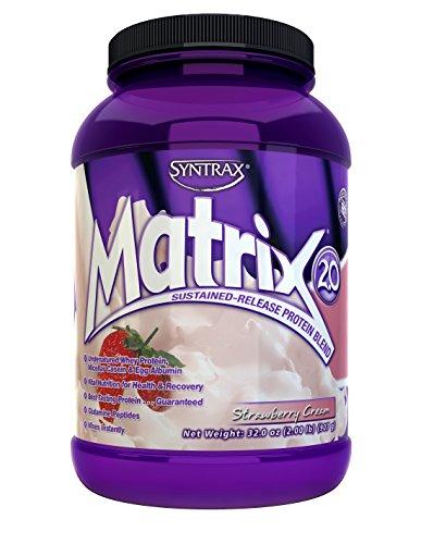 Matrix2.0, Strawberry Cream, 2 Pounds