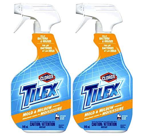 Tilex Plus Mold & Mildew Remover Spray, 32 Fluid Ounce (Pack of 2)