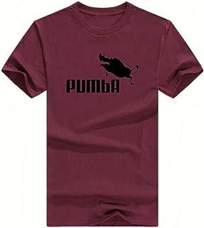Homme Noir PUMBA MARQUE DE SPORT Parodie T-Shirt Drôle Lion King tshirt