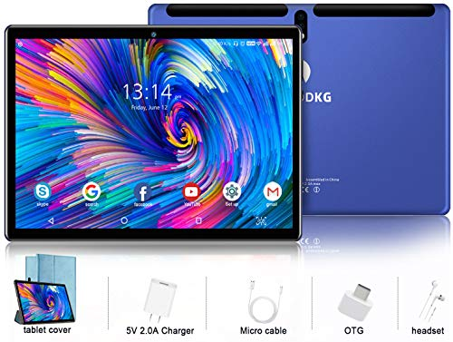 tablet huawei 10 pollici 4g wi-fi Tablet 10 Pollici Android 9.0 Pie Tablets 4GB RAM+64GB ROM
