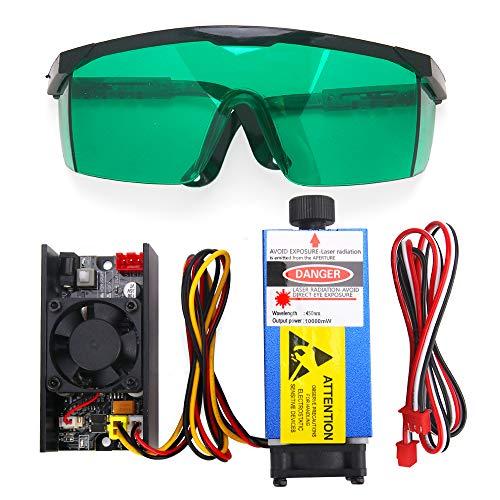 Módulo láser para CNC 3018 Pro, cabezal láser(10w)