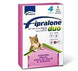 Fipralone duo spot on per gatti contro pulci e zecche 4 PIPETTE -
