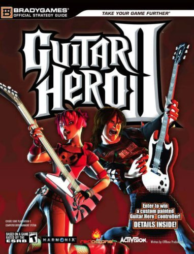Guitar Hero II Official Strategy Guide (Official Strategy Guides) by BradyGames (2006-11-07)
