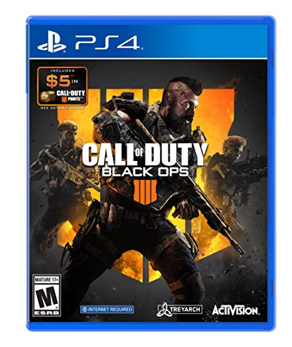Call of Duty: Black Ops 4 w/ $5 Cod Points - PlayStation 4