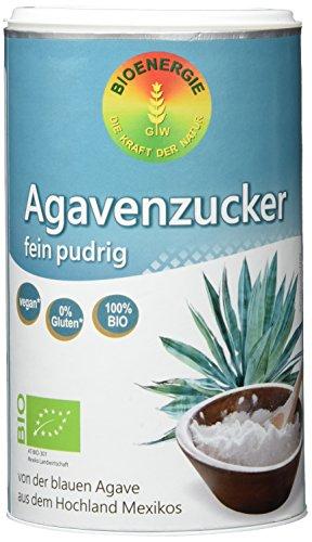 Bioenergie Agaven-Zucker pudrig-fein, 2er Pack (2 x 200 g)