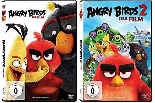 Angry Birds 1+2 Die Filme / Teil 1+2 [DVD Set]
