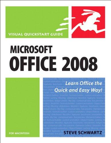 Microsoft Office 2008 for Macintosh: Visual QuickStart Guide (English Edition)