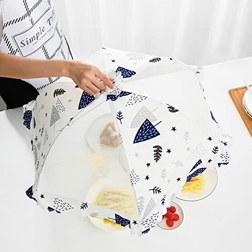 ya Resistente a moscas, insectos y polvo, cubierta de malla de malla, plegable (65 x 28 cm).