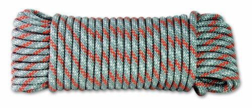 Chapuis DR61 - Cuerda polipropileno trenzado (450 kg de resistencia, 6 mm x 15 m), color gris