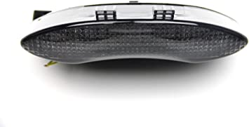Led Bremslicht Mit Integrierten Blinker Für 675 Speed Street Triple Getönt Auto