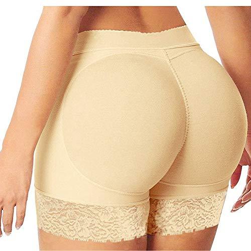 Angel ZYJ Femme Rembourré Push Up Fesses Sculptante Culotte Invisible Butt Lifter Enhancer Panty (A, M)