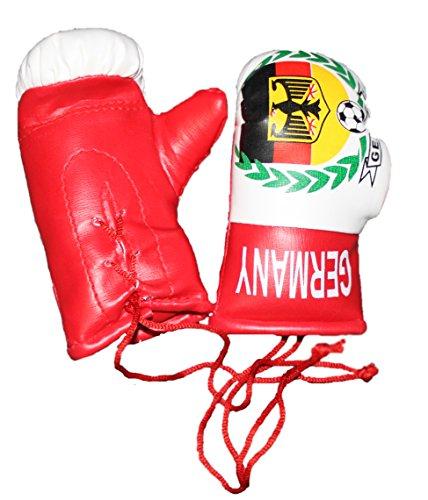 Lisaro Mini Boxhandschuhe mit Aufdruck Germany