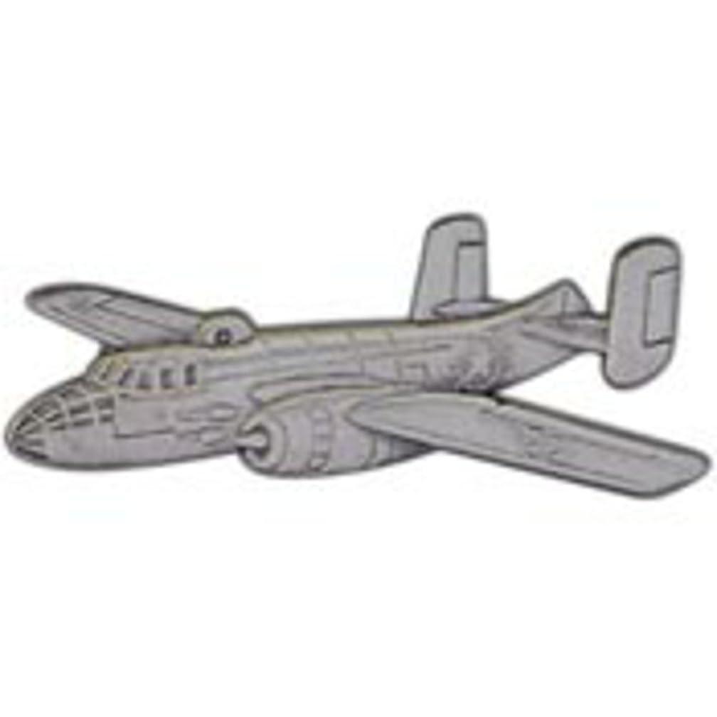 EagleEmblems P16020 Pin-APL,B-25 Mitchell (Pwt) (2-3/8'')