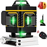 A.B Crew 16 Lines 4D Laser Level Self-Leveling 4x360 Horizontal & Vertical Cross line rechargeable line laser...