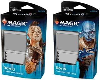 Magic The Gathering Ravnica Allegiance Planeswalker Decks Set Pair: 180 Total Cards!