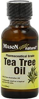 Mason Vitamins Tea Tree Oil 100% Pure Australian Oil Pharmaceutical Grade, 1-Ounce