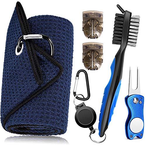 TOBWOLF Serviette de Golf, kit d'outils de Brosse avec...