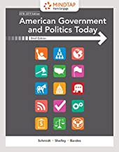 MindTap Political Science, 1 term (6 months) Printed Access Card for Schmidt/Shelley/Bardes' American Government and Politics Today, Brief, 10th