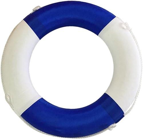 FAFY Floating Ring Float Boje Für Wassersport Segeln Stiefelfahren Schwimmen Lebensrettende Seil Schnur,Blau
