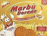 Marbú - Dorada Sabrosa y Crujiente - Galleta Maria - 800 g...