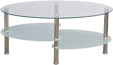 vidaXL Salontafel 3-Laags Exclusief Design Wit Salon Tafel Bijzettafel Tafels